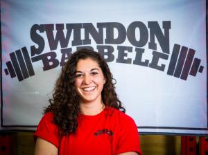 Swindon Barbell Coach Christie Civetta